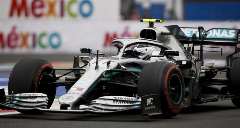 Grand Prix du Mexique de F1 : le crash de Valtteri Bottas en vidéo