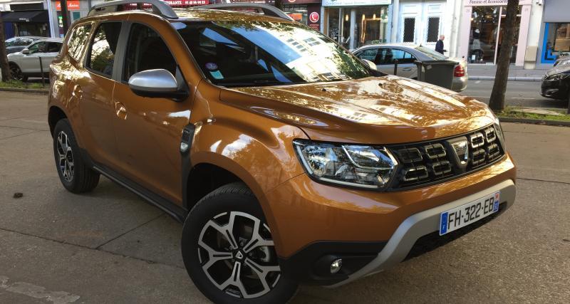 Dacia Duster 4x4 Prestige TCe 150 FAP : nos photos du SUV low cost à Paris
