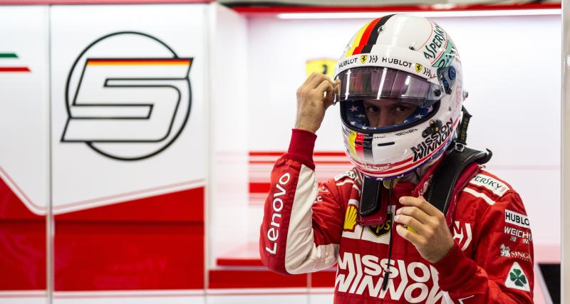 Les résultats de Vettel au Grand Prix des États-Unis