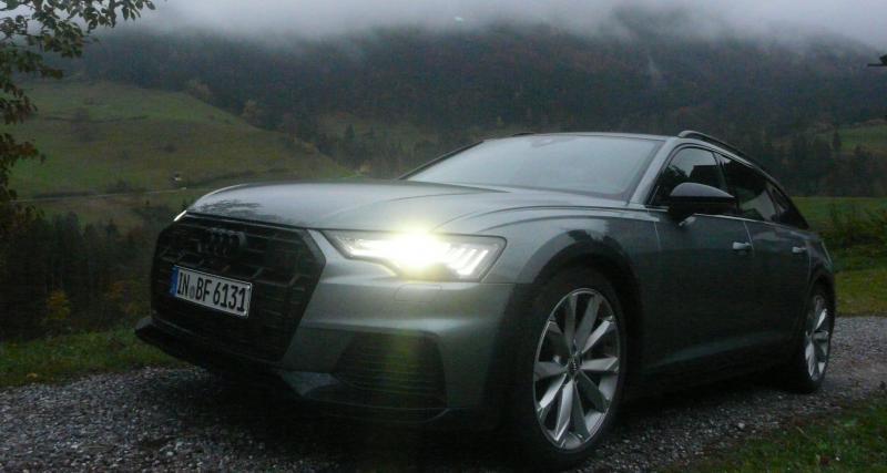 Audi A6 Allroad : les photos de notre essai du break à hauteur variable
