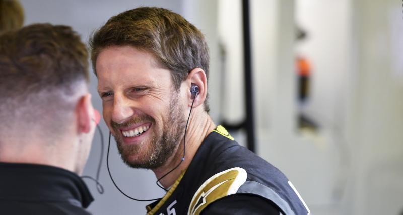 Les résultats de Romain Grosjean aux États-Unis