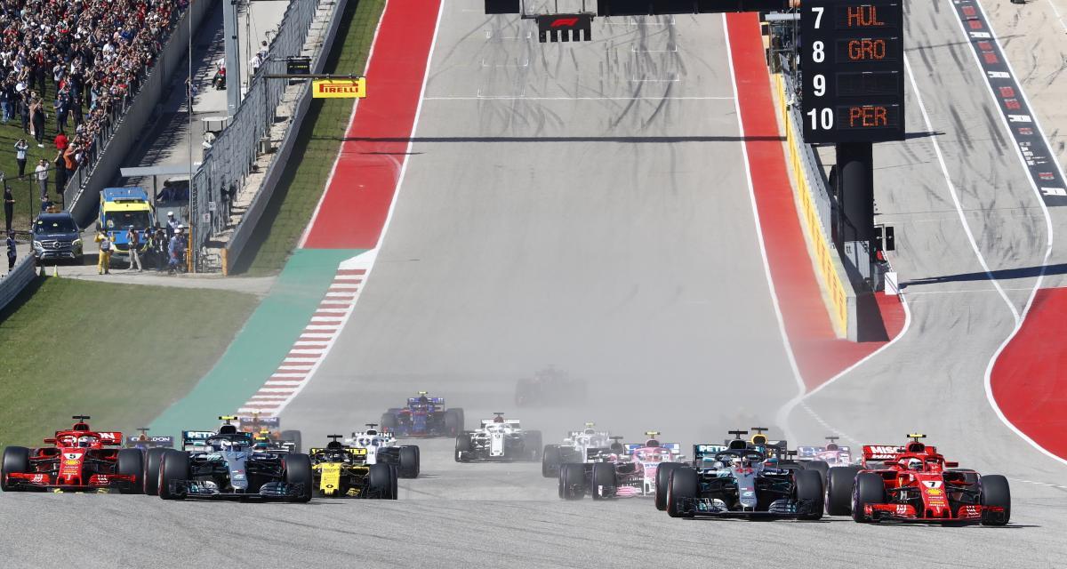 Grand Prix des États-Unis de F1 : sur quelle chaîne TV et à quelle heure ?