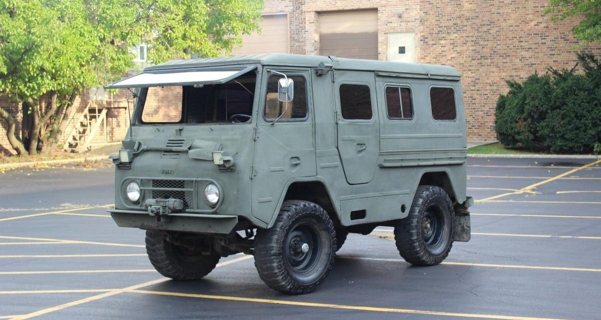 Camping-car : Volvo Laplander, le véhicule de loisirs rustique et chic