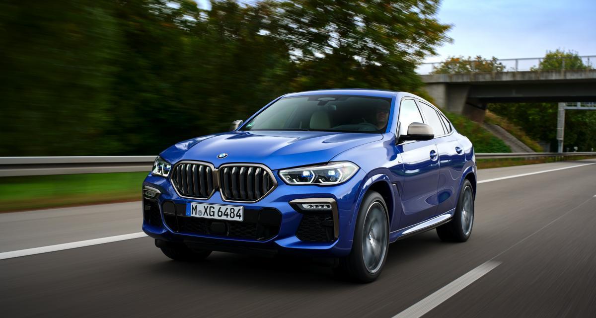 Nouveau BMW X6 : les photos de l'essai du SUV de troisième génération