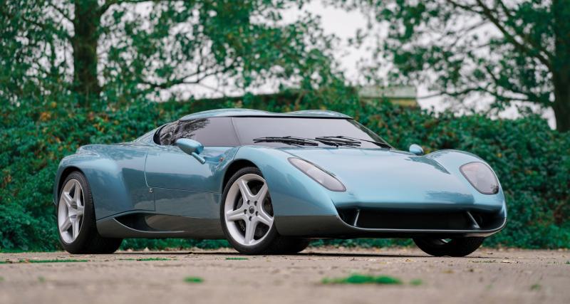 Zagato Raptor Concept : une supercar tout droit sortie des 90's