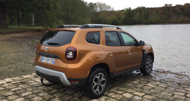 Dacia Duster 4x4 Prestige TCe 150 FAP : nos photos de l'essai du SUV en mode baroudeur à Rambouillet