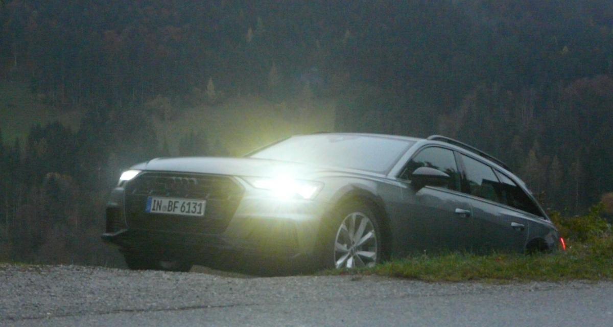 Essai de l'Audi A6 Allroad : même pas peur !