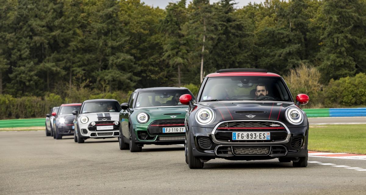 De la Mini Classic au Clubman JCW : les 60 ans de Mini au circuit de Dreux