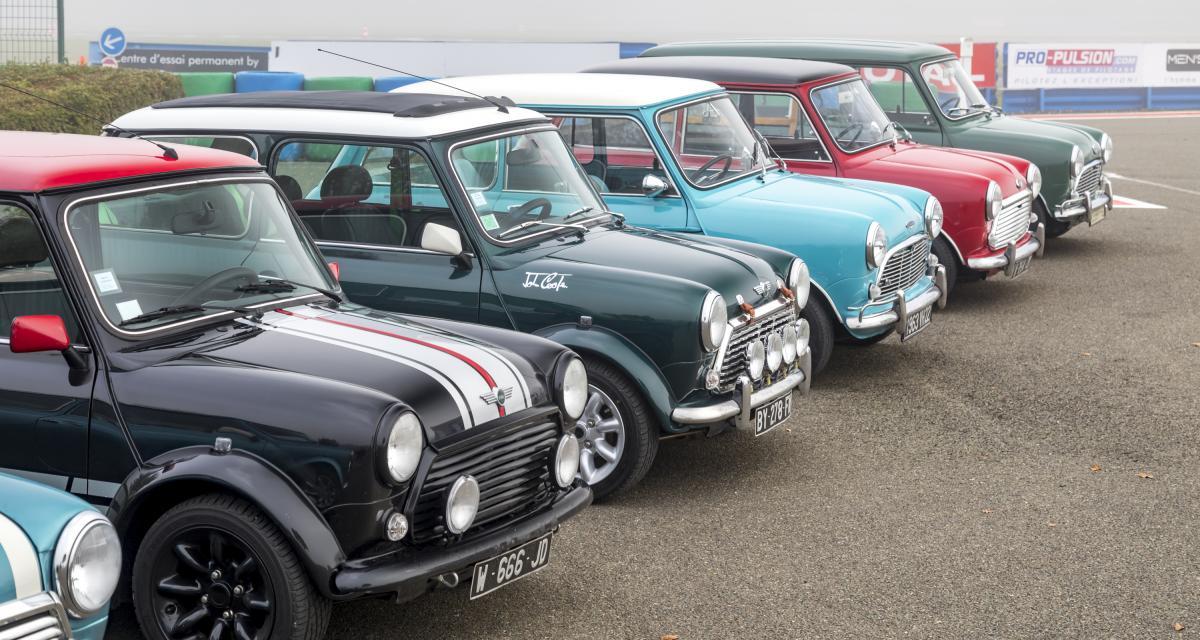 60 ans de Mini : les Mini classic en folie, toutes nos photos