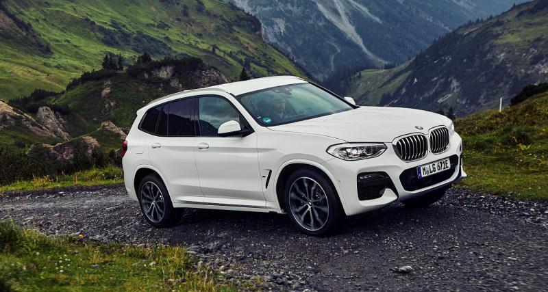 BMW X3 xDrive30e : l'hybride rechargeable capable de rouler 55 km en tout-électrique