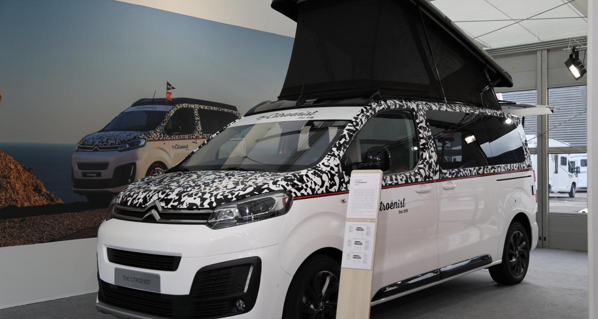 Camping-car SpaceTourer The Citroënist Concept : l'évasion pour tous