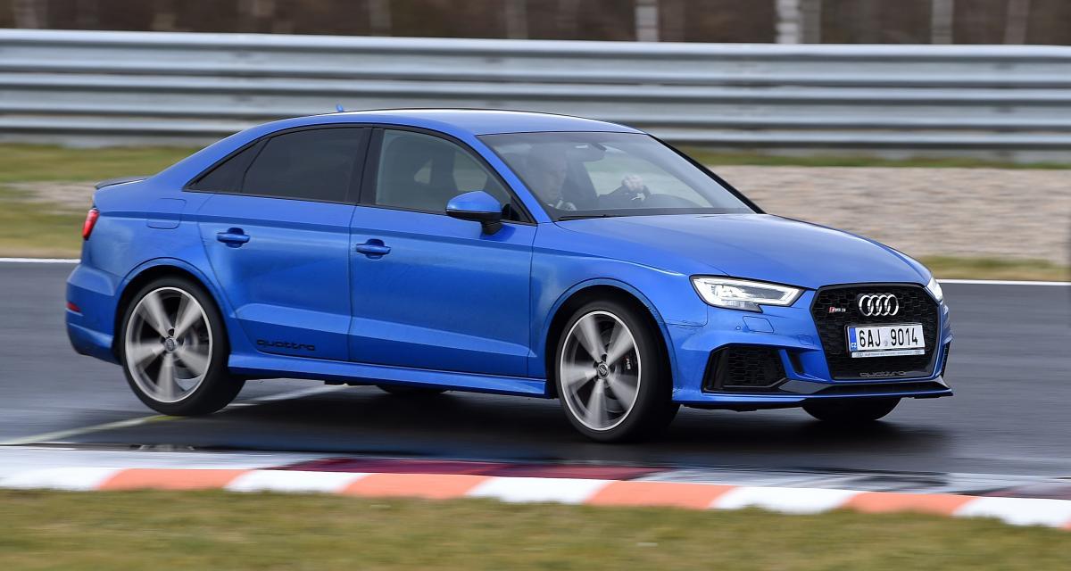 Excès de vitesse : un récidiviste arrêté en Audi RS3 à 243 km/h