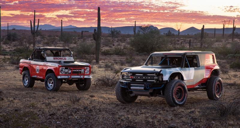 Ford Performance Bronco R : hommage sportif au 4x4 américain iconique