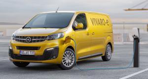 Opel Vivaro-e : jusqu'à 300 km d'autonomie en 2020