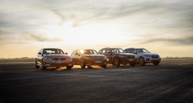 BMW Série 7 Berline 745e