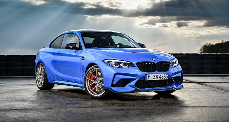 BMW M2 CS : une boîte manuelle et 450 ch !
