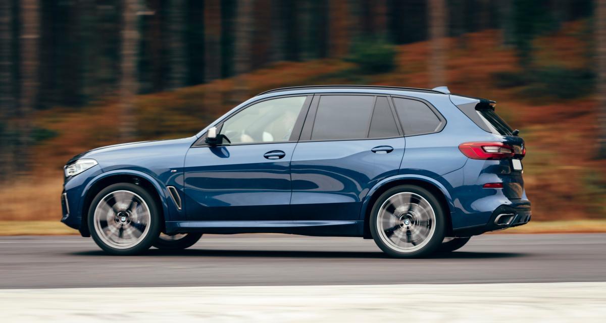 Grand excès de vitesse : flashé à 191 km/h en BMW X5