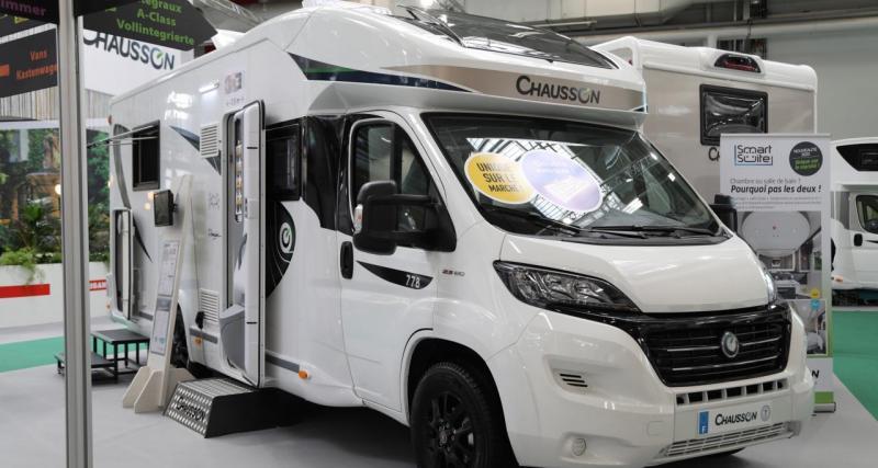 Le camping-car en folie à Besançon