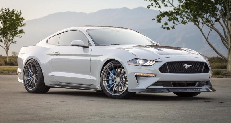 Ford Mustang Lithium : un dragster électrique de 900 ch au SEMA Show