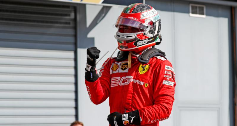 Ferrari – F1 – Charles Leclerc : « Terminer 3ème du championnat serait fou ! »