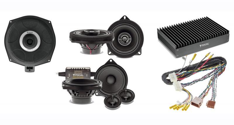 """Au Sema Show 2019, Focal dévoilait sa nouvelle gamme de haut-parleurs """"plug and play"""" pour BMW"""