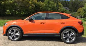 Essai vidéo de l'Audi Q3 Sportback : le SUV qui veut chasser sur les terres du BMW X2
