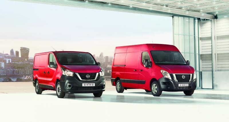 Nissan NV300 et NV400 : les utilitaires actualisés