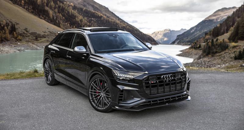 Audi SQ8 TDI par ABT : un V8 diesel de 510 ch