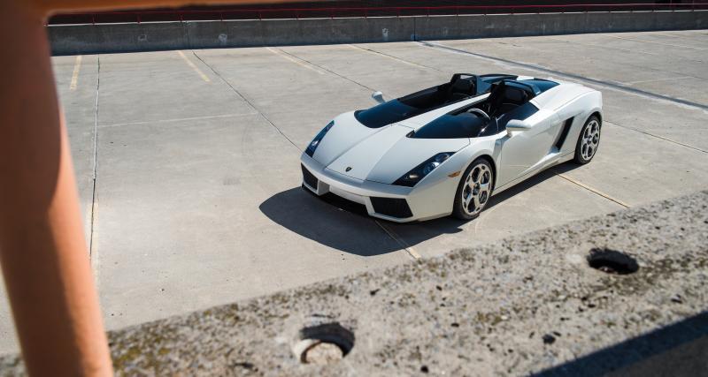 Lamborghini Concept S : spyder unique au monde à vendre, état neuf...