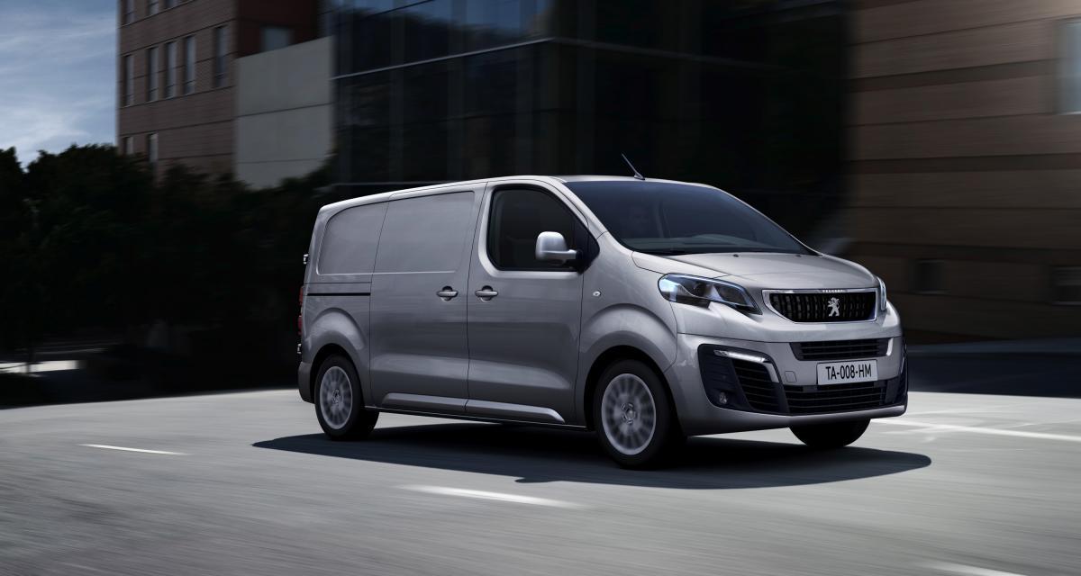 Nouveau Peugeot e-Expert : l'utilitaire vert 100% électrique