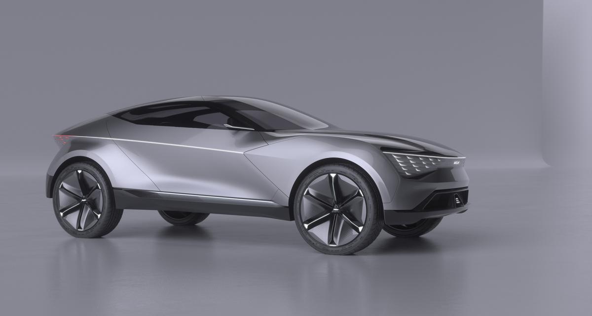 Kia Futuron Concept : le futur du SUV Coupé électrique