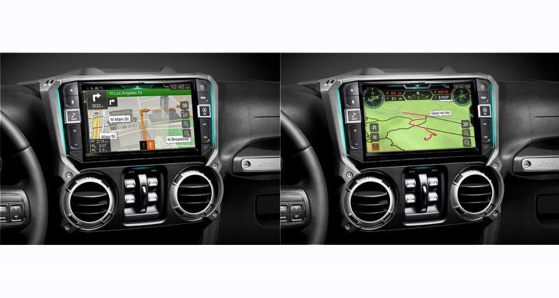 Alpine commercialise un nouvel autoradio pour Jeep Wrangler avec un mode OFF Road