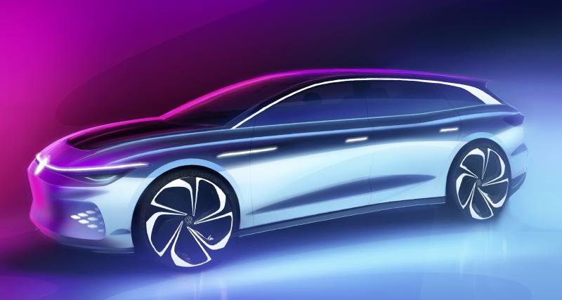 ID Space Vizzion : un concept de grande berline pour le LA Auto Show