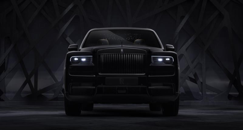 Rolls-Royce Cullinan Black Badge : noir c'est noir