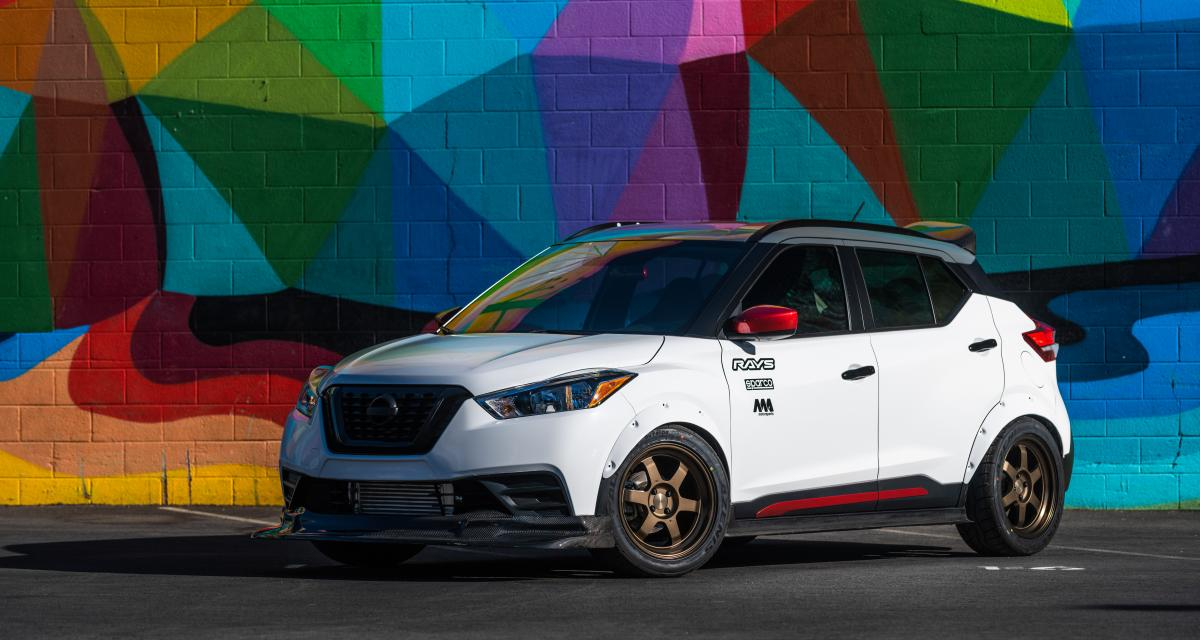 Nissan Kicks Street Sport : un crossover aux hormones au SEMA Show