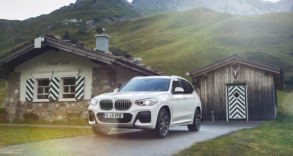 BMW X3 xDrive30e : le SUV hybride rechargeable en 3 points