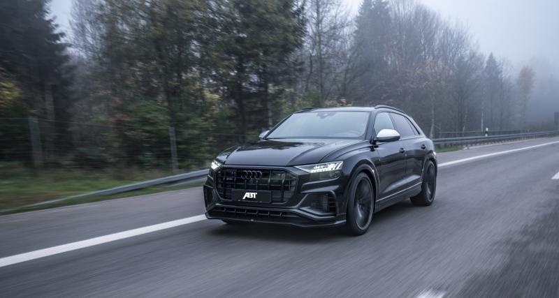 Audi SQ8 TDI par ABT : le SUV Coupé préparé en 3 points