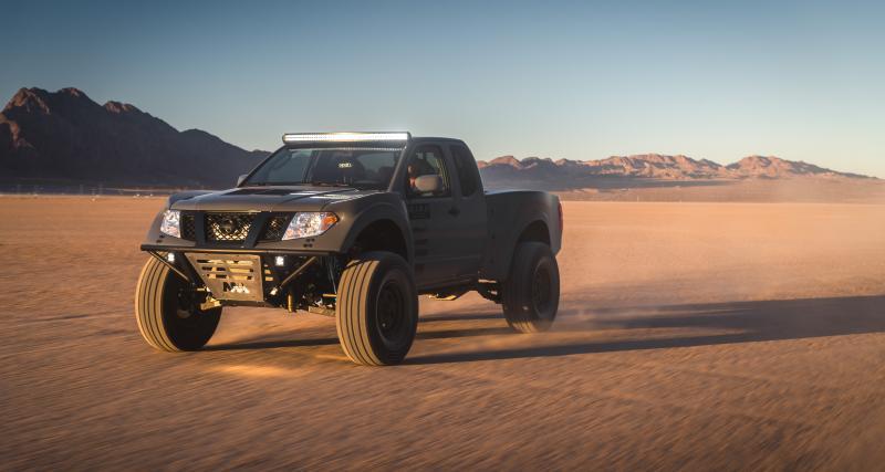 Nissan Frontier Desert Runner : un pick-up musclé pour le SEMA 2019