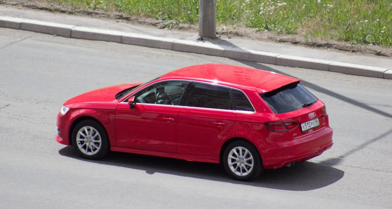 Flashé à 192 km/h sur une départementale en Audi A3