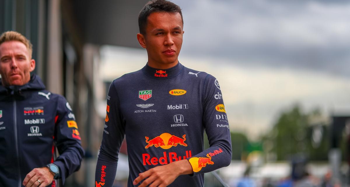 Formule 1 : Albon officialisé chez Red Bull en 2020