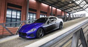 Maserati GranTurismo Zéda : une peinture pour une carrière