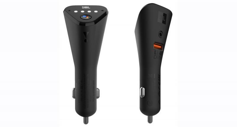 """JBL commercialise un système """"plug and play"""" Google Assistant pour toutes les voitures"""