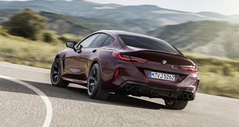 BMW M8 Gran Coupé et M8 Gran Coupé Competition