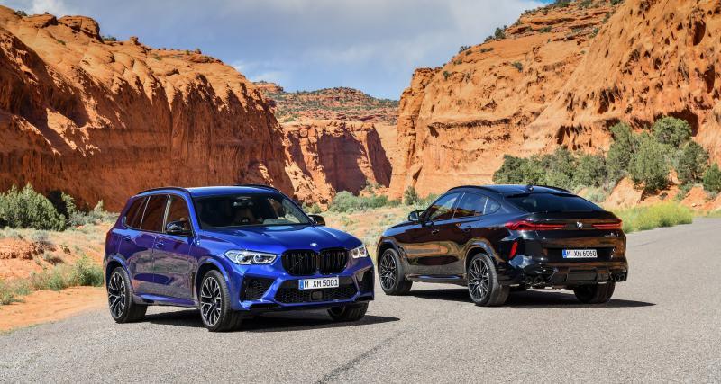 BMW X5 M et X6 M / X5 M Competition et X6 M Competition