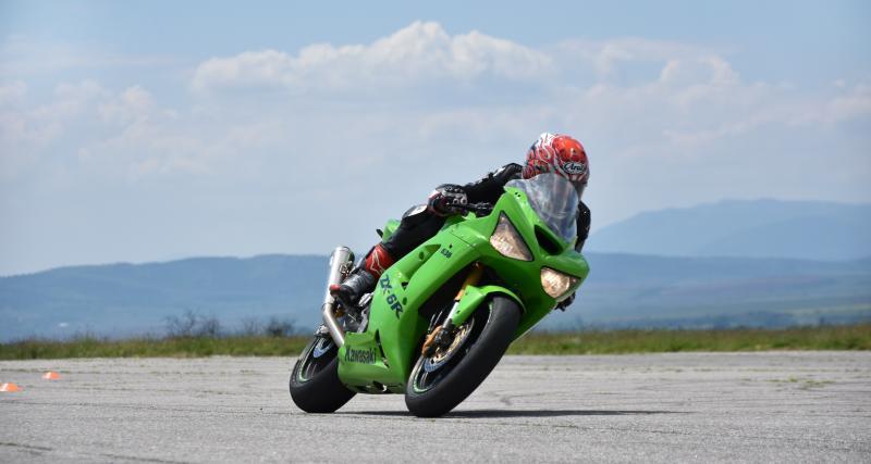 Excès de vitesse : un motard flashé à 200 km/h