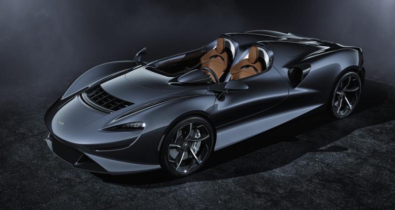 McLaren Elva : l'hypercar à l'air libre