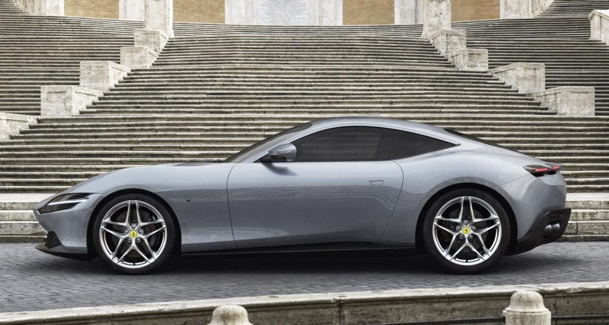 Ferrari Roma : la dolce vita du cheval cabré