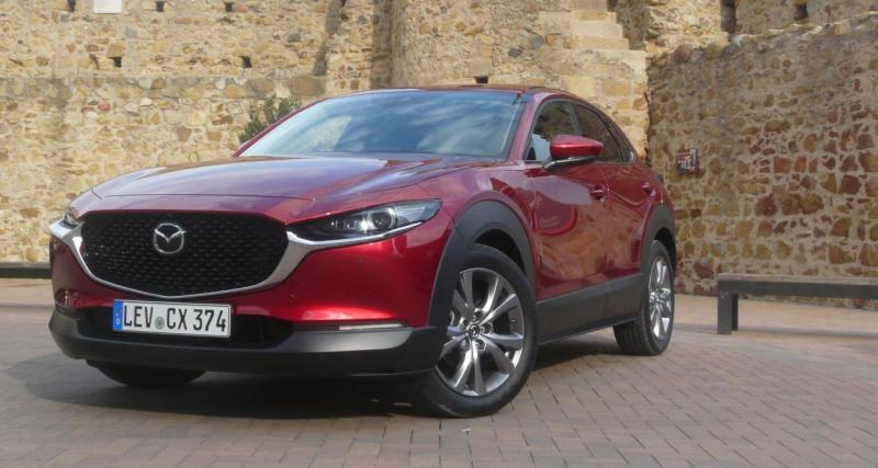 Mazda CX-30 : cinq étoiles Euro NCAP