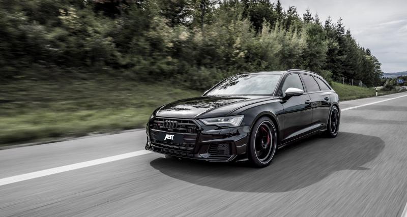 ABT Audi S6 : le V6 TDI du break familial reçoit sa préparation