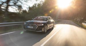 Audi S8 : toutes les photos officielles du TGV allemand